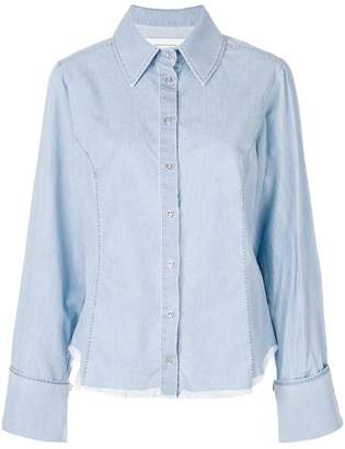Marques Almeida Marques'almeida distressed chambray shirt