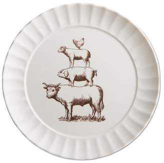 TAG Home Farm Fresh Melamine Dinner Plate - Set of 4