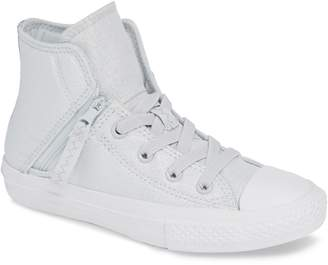 Converse Chuck Taylor(R) All Star(R) Pull Zip High Top Sneaker
