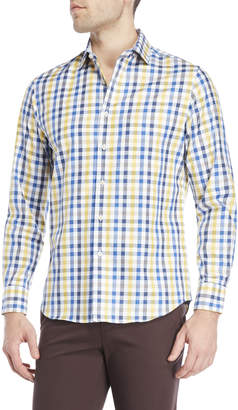 James Tattersall Check Sport Shirt