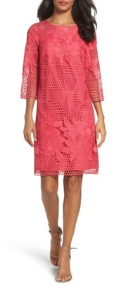 Women's Adrianna Papell Lace A-Line Dress $160 thestylecure.com