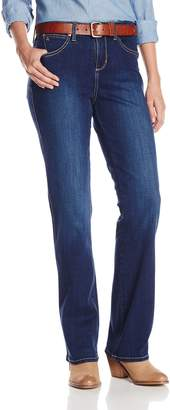 Wrangler Women's Aura with Booty Up Technology Jean