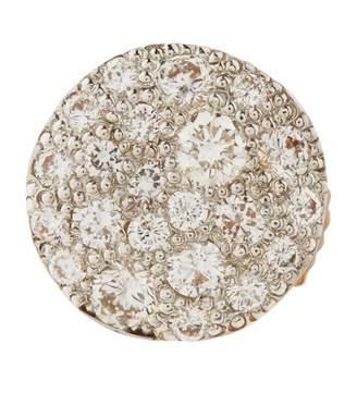 Pomellato Rose Gold and Diamond Sabbia Earrings