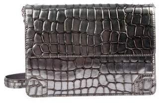 Alice + Olivia Metallic Embossed Leather Bag