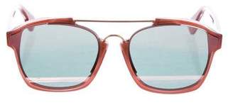Christian Dior Tinted Square Sunglasses