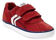 Geox Boy's Kilwi Suede Sneakers