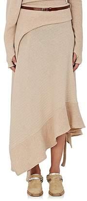 Paco Rabanne Women's Rib-Knit Wool-Blend Draped Sweater