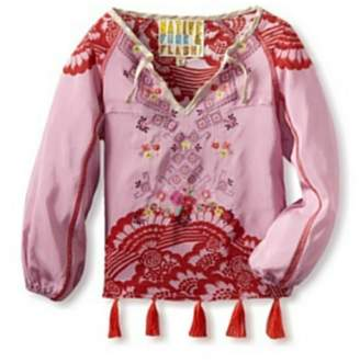 Beth Friedman Girl's Peasant Blouse