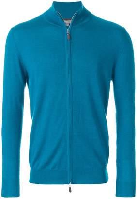 N.Peal Hyde fine zip sweater