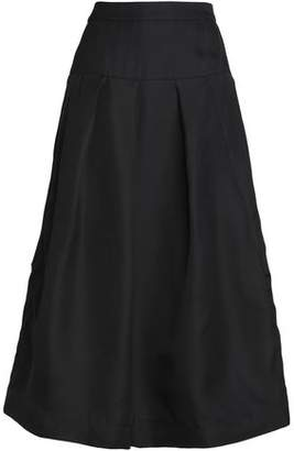 Co Silk Midi Skirt
