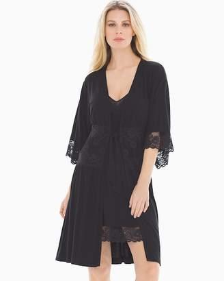 Cool Nights Inked Short Robe