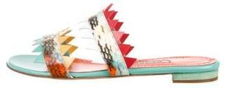 Manolo Blahnik Arpege Slide Sandals