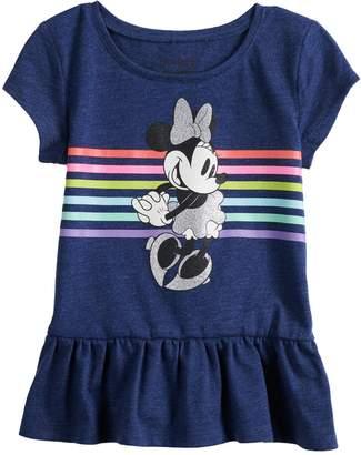 Disney's Minnie Mouse Toddler Girl Peplum-Hem Top by Jumping Beans