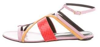 Oscar de la Renta Lexina Multistrap Sandals w/ Tags