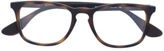 Ray-Ban tortoiseshell squared glasses