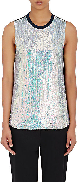 3.1 Phillip Lim 3.1 Phillip Lim Women's Sequin-Embellished Shell