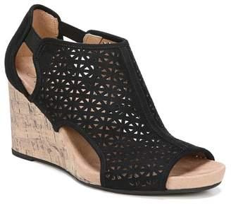 LifeStride Hinx Perforated Wedge Sandal