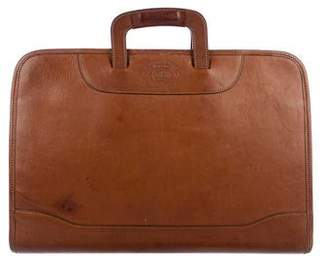 Ghurka No. 24 Attache Leather Briefcase.