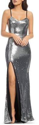 Dress the Population Ingrid Sequined Gown