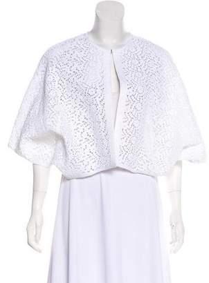 Zero Maria Cornejo Crocheted Cropped Jacket
