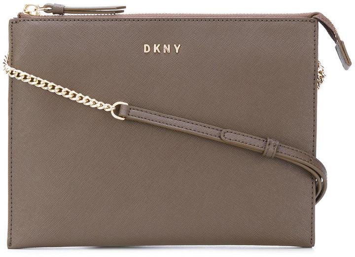 DKNY Flat top zip crossbody bag