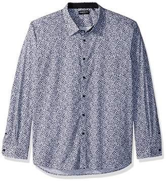 Kenneth Cole New York Men's Mosaic Print Shirt