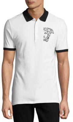 Nero Cotton Polo $245 thestylecure.com