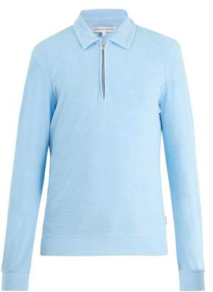 Orlebar Brown Ritson French Terry Towelling Top - Mens - Light Blue