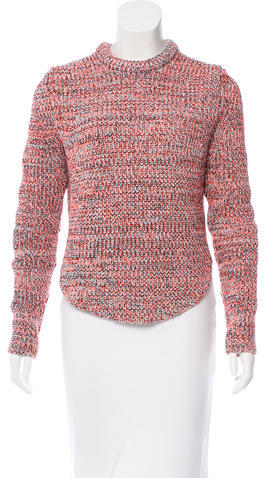 CelineCéline Patterned Crew Neck Sweater