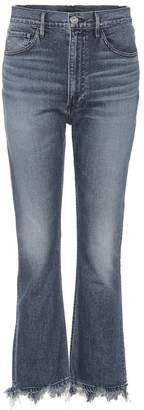3x1 W5 Empire high-rise flared jeans