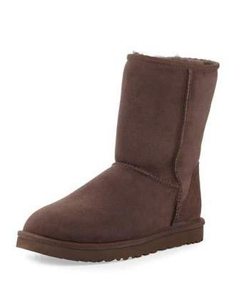 UGG Classic Short Suede Boot $130 thestylecure.com