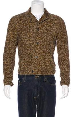 Saint Laurent 2015 Babycat Suede Jacket