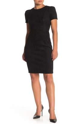 Modern American Designer Scuba Sheath Dress