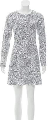 Tory Burch Long Sleeve Mini Dress