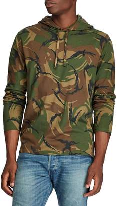 Polo Ralph Lauren Camouflage Hooded Cotton Tee