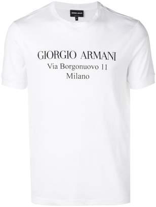 Giorgio Armani short sleeved T-shirt