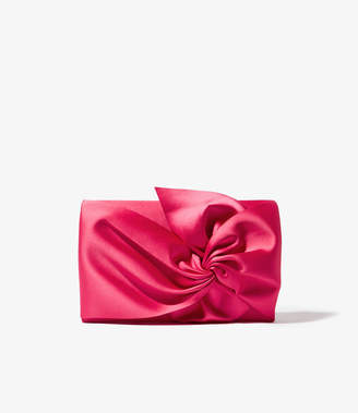 Karen Millen Twist Front Clutch Bag