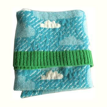 rainy day mini blanket by donna wilson - 1 left! CLEARANCE