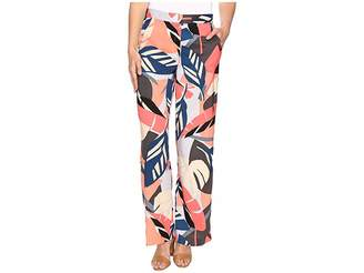 Vince Camuto Modern Tropics Wide Leg Pants Women's Casual Pants