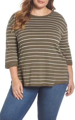 Caslon Relaxed Stripe Tee