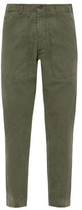 J.w.brine J.W. Brine J.w. Brine - Daryl Cotton Blend Trousers - Mens - Green