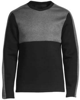 Helmut Lang Contrast Panel Sweatshirt