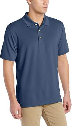 Cubavera Cuba Vera Men's Essential Textured Performance Polo Shirt