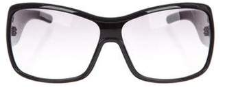 Marc by Marc Jacobs Resin Oversize Sunglasses