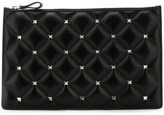 Valentino studded clutch