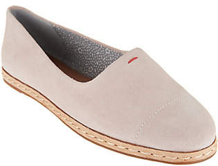 ED Ellen Degeneres Suede Slip-On Shoes -Norana