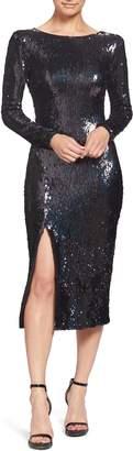 Dress the Population Natalie Sequin Sheath Dress