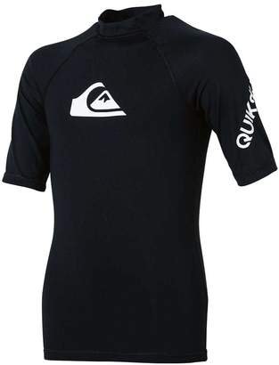 Quiksilver Boys All Time Short Sleeve Rash Vest