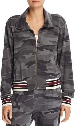 Splendid Camo Zip-Front Sweatshirt - 100% Exclusive