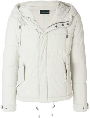 Yves Salomon short padded coat